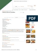 Receita de Caldo de Sururu Da Bahia - Cyber Cook Receitas