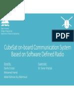 Qatar University CubeSat - SDP II Presentation