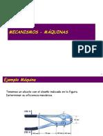 MECANISMOS - MÁQUINAS