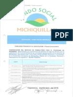 BASES CONCURSO PRIVADO 03-2016-AFSM-Primera Convocatoria Contratacion de Servicio de Cosnultoria Para Programa de Inversion