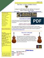 Newsletter 10-03-16