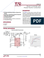 Boost Controller With Power Factor Correction