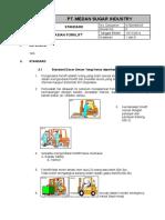 STD HSE 05 Pengoperasian Forklift