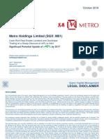 Quarz Capital Management Metro Holdings Presentation FINAL 4 Oct 2016-1