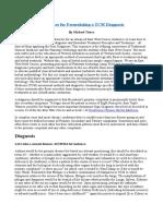 Guidelines for Formulating a TCM Diagnosis
