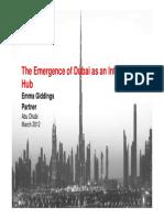 The Emergence of Dubai as an International Hub 64224