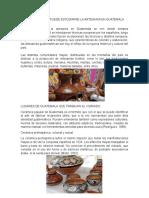 Epocas en La Que Puede Estudiarse La Artesania en Guatemala