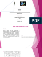Trabajo Historia Del Cusco