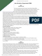 Pengelolahan, Pola Dan Struktur Organisasi PSB_ Pengelolahan, Pola Dan Struktur Organisasi PSB