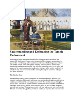 Understanding and Embracing the Temple Endowment