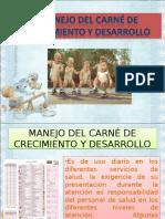 MANEJO DEL CARNE DE DRECIMIENTO Y DESARROLLO II.ppt