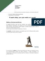 1.- La Escultura