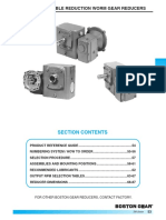 700 Series Double Reduction Catalog
