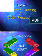 SAP Production Planning&Order Process