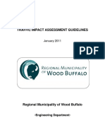 Traffic Impact Assessment Guidelines