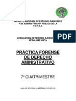 7° PRACTICA FORENSE DE DERECHO ADMINISTRATIVO