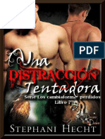 Stephani Hecht - Serie Los Cambiaformas Perdidos 07 - Una Distracción Tentadora