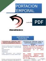 Exportacion Temporal