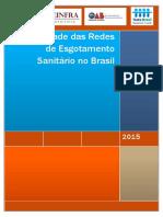 Ociosidade Redes Esgoto Brasil