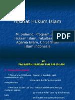 Hukum Islam Sularno Filsafat Hukum Islam 09 Falsafah Ibadah