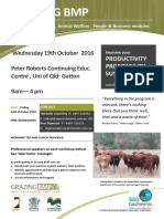 Grazing BMP Workshop Flyer - Gatton 14th Oct 2016