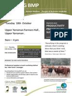 Grazing BMP Workshop Flyer - Upper Yarraman 13th Oct 2016