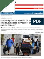 Desarraigados en México
