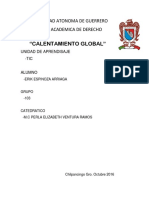Calentamiento Global Tic