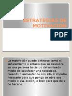Estrategias de Motivacion