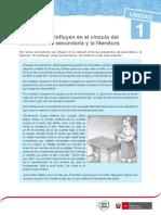 FACTORES QUE INFLUYEN EN EL VINCULO DEL ESTUDIANTE CON LA LITERATURA RHM2016