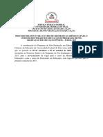 Mestrado UFPA (Chamada)