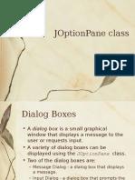 j Option Pane Class