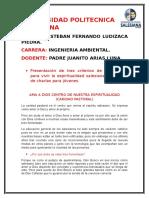 Criterios de Don Bosco