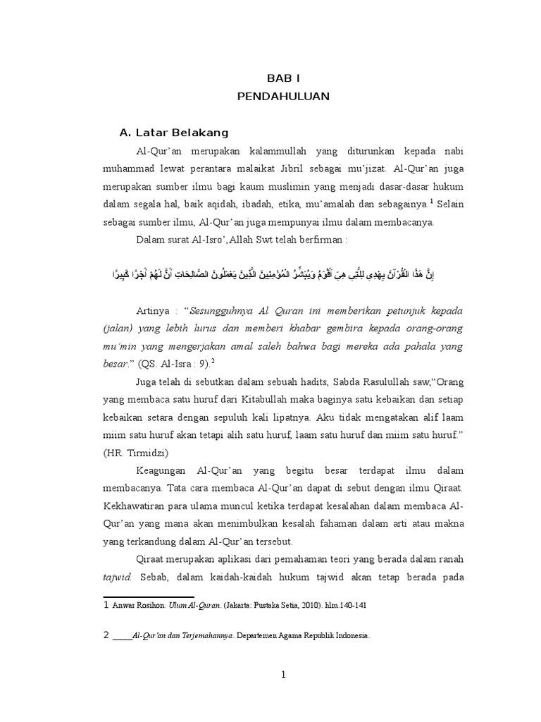 Al Qur An Dan Qiroat