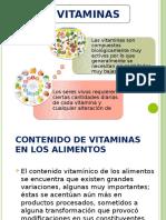 Vitaminas y Pigmentos Data