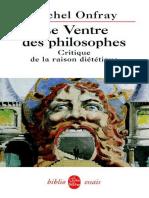Le ventre des philosophes.epub