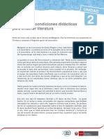 PRINCIPIOS Y CONDICIONES DIDÁCTICAS PARA ENSEÑAR LITERATURA RHM2016