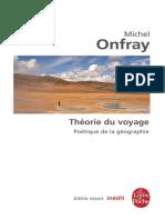 Theorie du voyage.epub