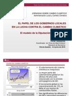 Gobiernos Locales y Cambio Climatico (diputacion de Barcelona)