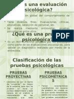 Aplicación de Pruebas Psicológicas Para Selección de Personal