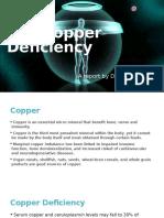 Copper Deficiency