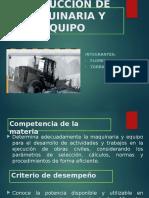 Produccion Maquinaria Ult