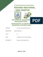 Contaminaciones en La Agroindustria