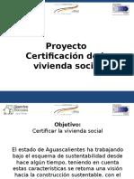 Certificación Vivienda Social