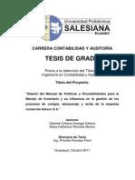 Manual de Políticas y Procedimientos