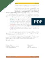 PRIMER CAMPESTRE DEL MINISTERIO JUVENIL  AVENTUREROS-CONQUISTADORES-GUÍAS MAYORES-SOCIEDAD DE JÓVENES MISIÓN DEL NORTE DE GUATEMALA