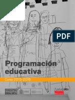programa_educativo_2015-2016_MUSEO NACIONAL CENTRO DE ARTE REINAS SOFIA