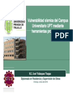 02c - Vulnerabilidad Sísmica Del Campus UPTP