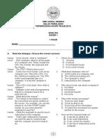 English Paper 1 Remove Class