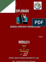 Control Tecnico, Económico Administratico - Legal - Capi